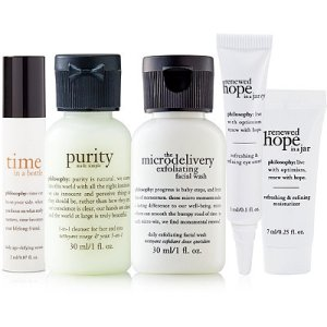 Time in a Bottle, Purity in a Bottle, The Microdelivery Exfoliating Facial Wash, Renewed Hope in a Jar Eye, Renewed Hope in a Jar