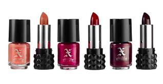 Studded X: 3 Mini Lip + 3 Nail Polish Duo, originally $29.50, sale $14.75